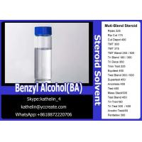 Buy cheap Pharma Grade Solvent Benzyl Alcohol(BA)For Steroid Liquid Homebraw from wholesalers