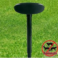 Quality Solar Sonic Ultrasonic Electronic Led Animal Dog Cat Pest Insect Repeller Away Chaser Stop for sale