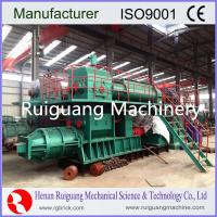 Quality High efficency and capacity Brick making machine,clay brick extruder for sale