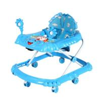 Wholesale Modern Rolling Boys Adjustable Baby Walker with Musical Lovely Toys from china suppliers