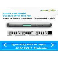 Wholesale 12 RF Output Digital TV Modulator Slot Card Modules Multiplexing Function from china suppliers