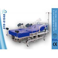 Quality Foot Switch Obstetric Delivery Bed Abs Or Steel Frame Side Rails for sale