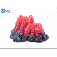 Wholesale Aquarium Fish Aquarium Ornaments , Underwater Erupting Bubbler Volcano Air Operated Craft from china suppliers