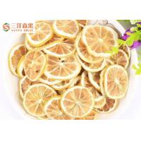 Wholesale Grade A Freeze Dried Lemon Slice Health Dried Fruit HACCP Certificate from china suppliers