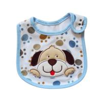 Wholesale Lovely Dog Cute Baby Bibs / Cotton Baby Bibs with Custom Logo from china suppliers