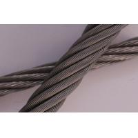 Wholesale Galvanized 304 7x19 Stainless Steel ASTM Wire Rope Diameter 22mm For Construction from china suppliers