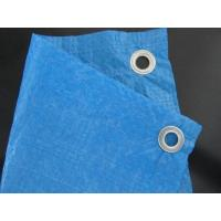 Wholesale 50-55gsm blue  color PE tarpaulin poly tarp with eyelets reinforced from china suppliers