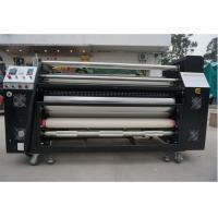 Wholesale Full Automatic Roller Heat Transfer Machine , Fabric Heat Press Machine from china suppliers