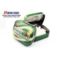 Wholesale Sugar Free Tablet Tin Box Candy With Customize Logo Print Watermelon Flavor from china suppliers