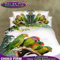 Wholesale New 100% Polyester Parrot Printed Queen King Size 3D Bedding Sets from china suppliers
