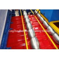 Wholesale Roof Glazed Tile Roll Forming Machine , High speed metal Roll Forming equipment from china suppliers