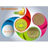 Wholesale 2,400GDU/g Light Yellow Bromelain Protease Enzyme For Animal Nutrition SINOzym-BR2400FE from china suppliers