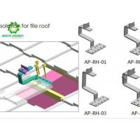 Wholesale Premium PV Mounting Systems Solar Racking Systems With Innovative Roof Hooks from china suppliers