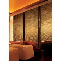 Quality 15mm Carved Lanmination Glass Decorative Panels For Wall / Privacy Room for sale