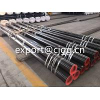 Quality Round Din1629 Hot Finished Seamless Tube , ST52 / Q345 Thin Wall Steel Tubing for sale