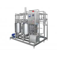 Wholesale Automatic Pasteurized Milk Processing Line , Yogurt Production Line Equipment 6000-10000LPH from china suppliers