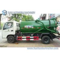 Wholesale Foton Small 4x2 3m3 To 4m3 Sewage Suction Tanker Truck , Sewage Disposal drainage septic tank from china suppliers