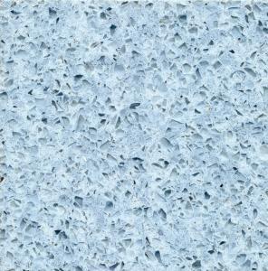 Wholesale Dream Blue Jewel Quartz Kitchen Countertops , Artificial Quartz vanity tops from china suppliers