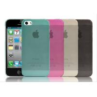 Quality TPU Transparent Matte Cellphone Case For iPhone4 / 5 , Samsung Galaxy S4 / HTC for sale