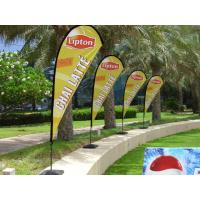 Wholesale Beach flag /feather banner accessories /tear drop flag spike ground from china suppliers