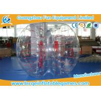 Wholesale Clear Human Inflatable Bubble Ball 1.5m / 1.8m Inflatable Bubble Soccer from china suppliers