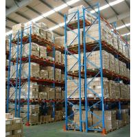 Wholesale Industrial Warehouse selective pallet rack with spraying paint , 500kg - 1500kg from china suppliers