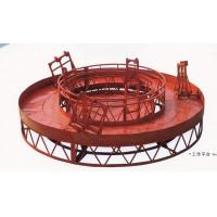 Wholesale OEM Red Rounded Lifting Suspended Working Platform for Cleaning Building from china suppliers