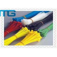 Wholesale Red color self -locking nylon 66 plastic cable ties zip ties with diffrent length from china suppliers