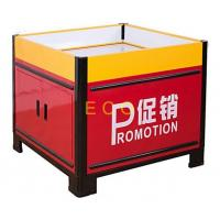 Wholesale Movable Metal Promotion Display Counter Store Supermarket Accessories L1000 * W1000 * H850 mm from china suppliers