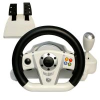 Wholesale Adjustable Wireless / Wired PC Game Racing Wheel For Platform from china suppliers