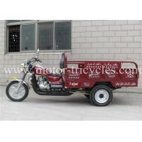 Wholesale Manul Clutch Gasoline 150CC Motor Tricycle , Three Wheeled Petrol Tricycle from china suppliers