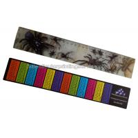 Wholesale PET / PP Printing Customised 3d Lenticular Ruler For Student Flip Effect from china suppliers