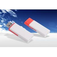 Wholesale Portable Plastic White 8GB USB Memory Stick Customized Logo from china suppliers