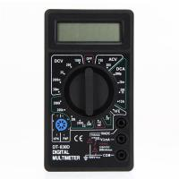 Wholesale Mini Digital Multimeter with Buzzer Voltage Ampere Meter Test Probe DC AC LCD from china suppliers