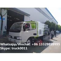 Buy cheap CLW 2017 best offer price of street road sweeper truck mounted with sweeping deputy engine, road sweeping vehicle from wholesalers
