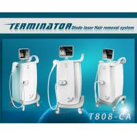 Wholesale 808nm Wavelength Diode pain free laser hair removal machines , hair removal laser equipment from china suppliers