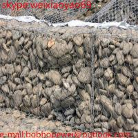 Wholesale electrical galvanized gabion box wire mesh/stone cages from china suppliers