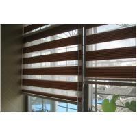 Wholesale Motorized Shangri La Sheer Shade for Office Windows with Bottomrail from china suppliers