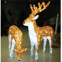 Wholesale christmas decoration led light reindeer from china suppliers
