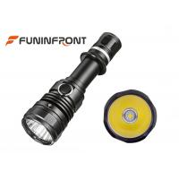 Wholesale 10W Powerful High Beam Cree LED Torch, Water Resistant 2 Switches Tactical Flashlight from china suppliers