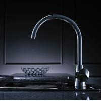 Wholesale Contemporary Chrome Finish Single Handle Kitchen Faucet, FC-1901-02 from china suppliers