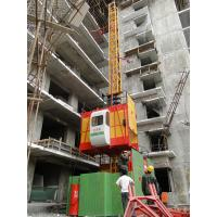 Wholesale Single Cage Adjustable Height Construction Hoist Elevator, Building Material Hoist SC100 from china suppliers