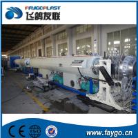 Wholesale 110kw Pipe Making Machine 110-315mm PVC Pipe Extrusion Machine from china suppliers