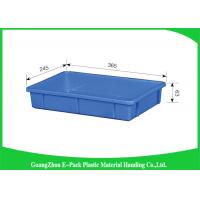Wholesale Industrial Large Plastic Storage Trays Standard Size Convenience Stores Stackable Recycled from china suppliers