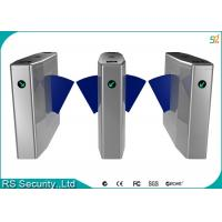 Wholesale Anti-Rushing Automatic Turnstiles Bi-directional Flap Barriers Speed Gate from china suppliers