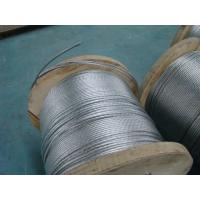 Wholesale Right Hand Lay Direction Galvanized Stay Wire With Overall Diameter 9.8 Mm from china suppliers