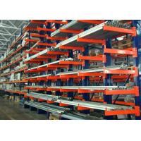 Wholesale Double Side Structural Cantilever Pallet Racking , Warehouse Storage Racking Systems  from china suppliers