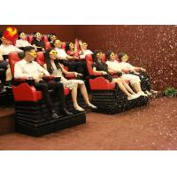 Wholesale Most Exciting Roller Coaster 4D Movie Theater Thrill Motion Seats With Electric System from china suppliers