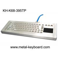 Wholesale Stainless Steel Desktop Industrial Mechanical Keyboard with Touchpad Rugged from china suppliers
