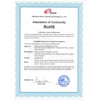 Shenzhen Hometech Technology Co., Limited Certifications